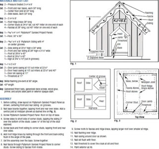 Wood Double Dog House Plans PDF Plansdouble dog house plans